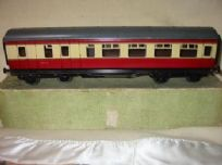 Bassett-Lowke 3rd Class Brake End Coach